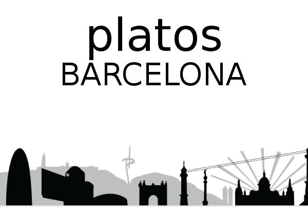 Platos barcelona